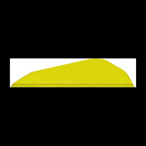 Easton Boattail Bully Vanes 2 in. Flo Yellow