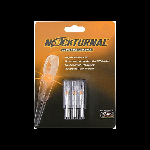 Nockturnal Lighted Nock Orange G Nock 3 pk.
