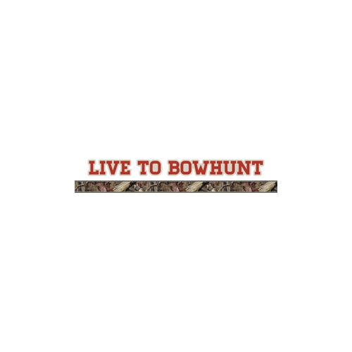 Camo Pin Stripe w/Live To Bowhunt Decal