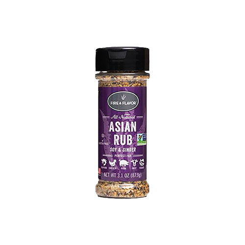 Fire and Flavor Seasonings Asian Rub