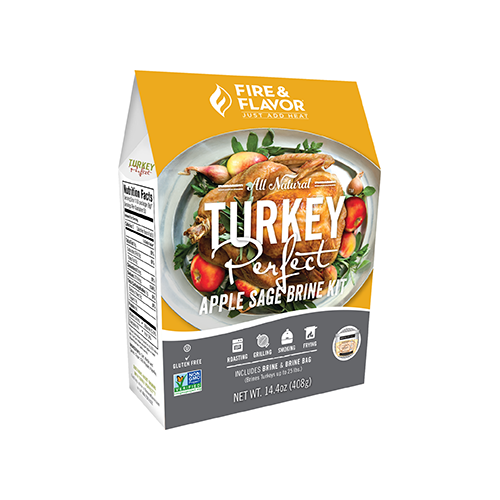 Fire and Flavor Turkey Perfect Kit Apple