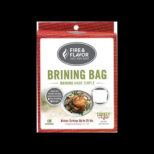 Fire and Flavor Turkey Brine Bag