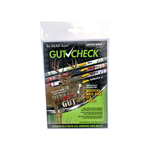 Gut Check Arrow Wrap Indicator Whitetail Mule Deer Elk Moose