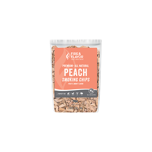 Fire and Flavor Wood Chips Peach 2 lbs.