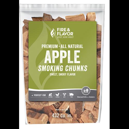 Fire and Flavor Wood Chunks Apple 4 lbs.
