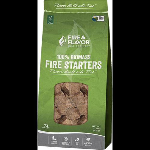 Fire and Flavor BioMass Fire Starter 24 pk.