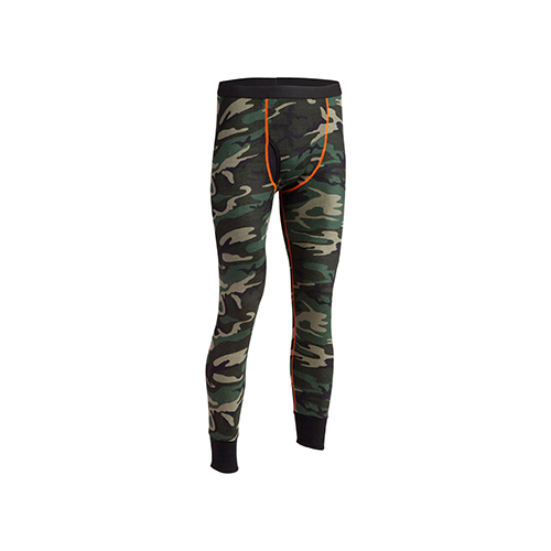 Indera Performance Camouglage Thermal Drawers Camo X-Large