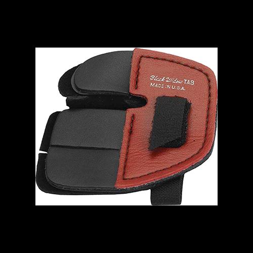 Black Widow Super Leather Shooting Tab Split Finger XL RH