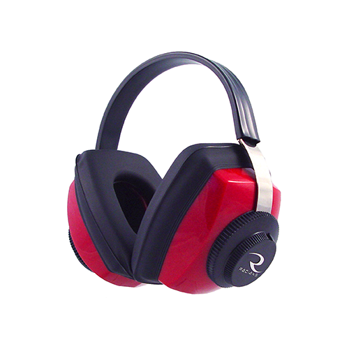 Radians Competitor Ear Muff Red