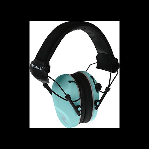 Radians R3200 Dual Mic Electronic Ear Muff Aqua/Gray