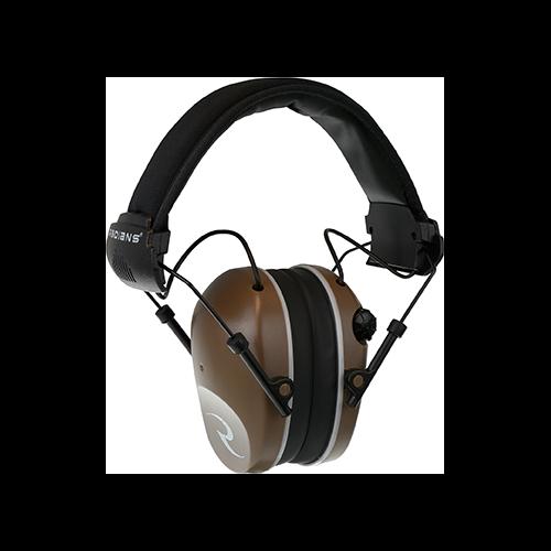 Radians R3200 Dual Mic Electronic Ear Muff Tan/Gray