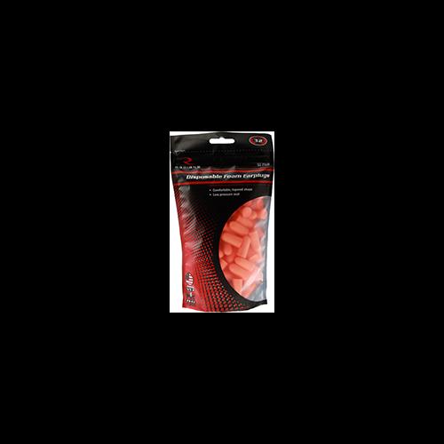 Radians Resistor 32 Foam Ear Plugs Uncorded Orange 50pr Bag