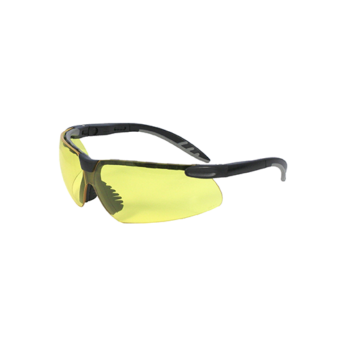 Radians Origin Ballistic Rated Shooting Glasses Black/Amber