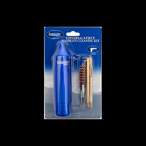 Gunmaster Compact Universal Pistol Cleaning Kit .22-45c 8pc