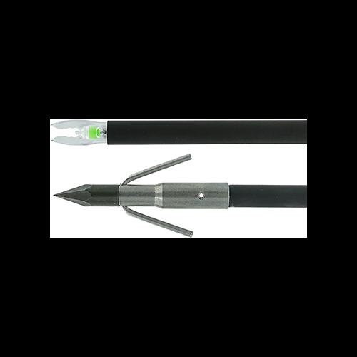 Muzzy Lighted Carbon Bowfishing Arrow Carp Point