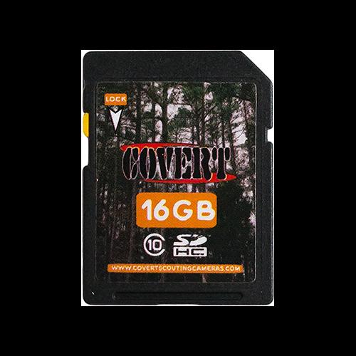 Covert MicroSD Memory Card 16gb