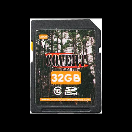 Covert MicroSD Memory Card 32gb
