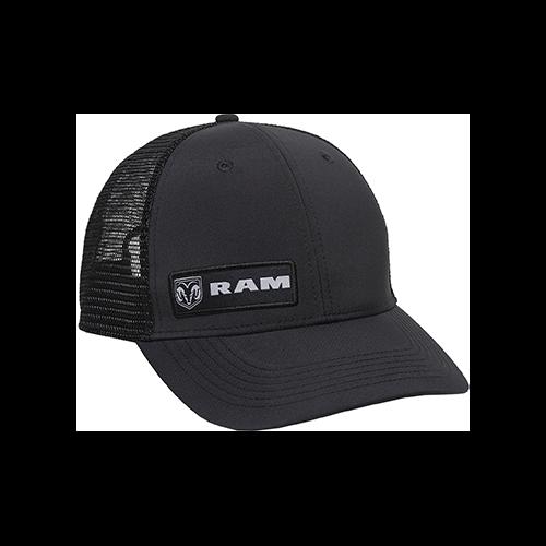 Outdoor Cap Dodge Ram Meshback Cap Black