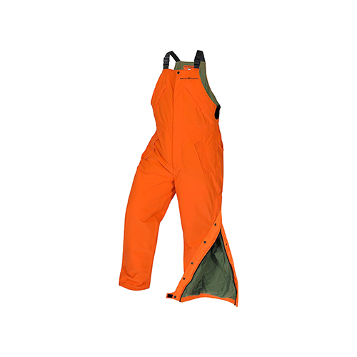 Arctic Shield Classic Elite Bib Blaze Orange Large