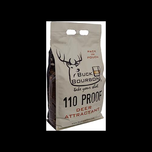 Buck Bourbon 110 Proof Deer Feed 8lbs
