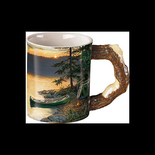 Wild Wings Sculpted Mug Summer Sunrise