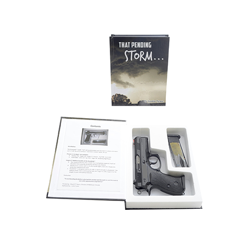 Whitetail'r BookKASE Handgun Safe That Pending Storm S-M