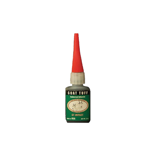 * Goat Tuff High Impact Glue .5 oz.