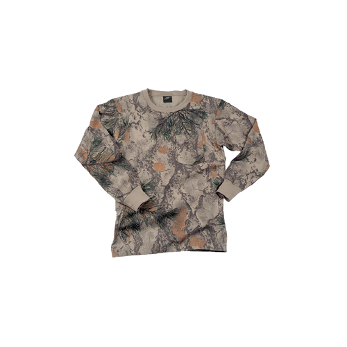 Long Sleeve Tshirt Natural Camo Large