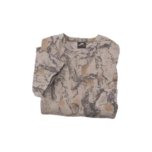 Short Sleeve Tshirt Natural Camo Large