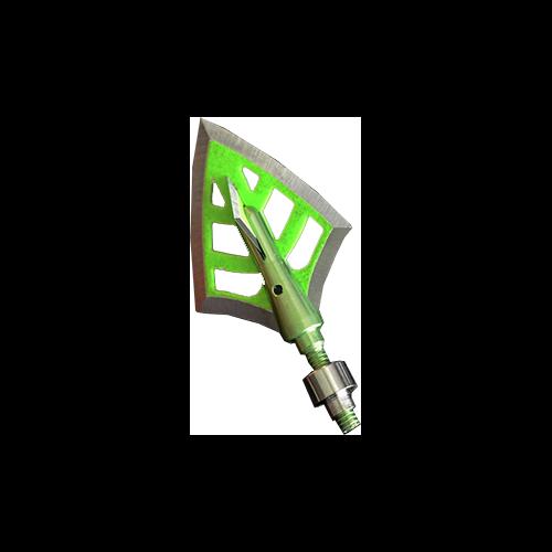 DRT Green 100gr Broadhead Double Bevel