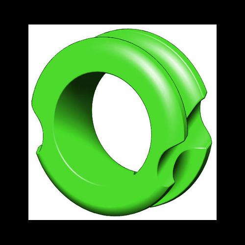 "G5 Meta Peep Pro Hunter 1/4"" Green"