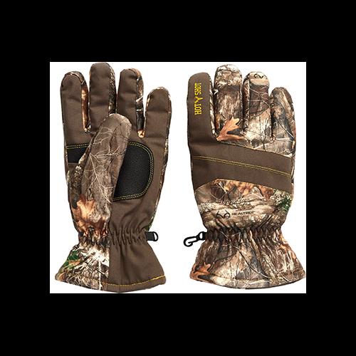 Hot Shot Defender Glove Realtree Edge Large