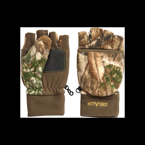 Hot Shot Bulls Eye Glove Realtree Edge X-Large