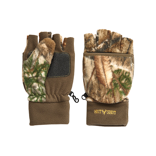 Hot Shot Bulls Eye Junior Glove Realtree Edge Small/Medium
