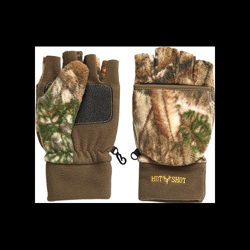 Hot Shot Bulls Eye Junior Glove Realtree Edge Large/X-Large