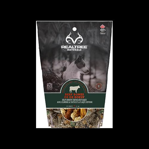 Realtree Naturals Premium Dog Treats Bag O' Bones