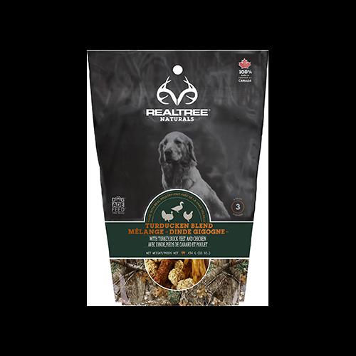 Realtree Naturals Premium Dog Treats Turducken Grill