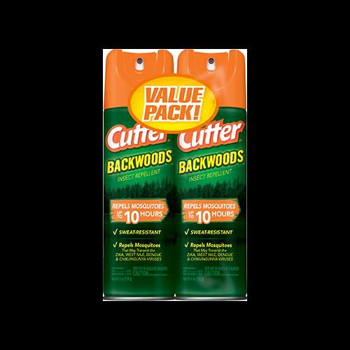 Cutter Backwoods Insect Repellet 25% DEET 2pk. 6oz. ea.