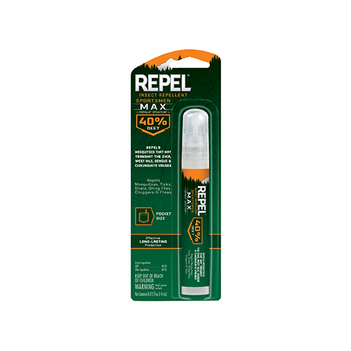 Repel Insect Repellent Sportmen Max Formula 40% DEET .47 oz.