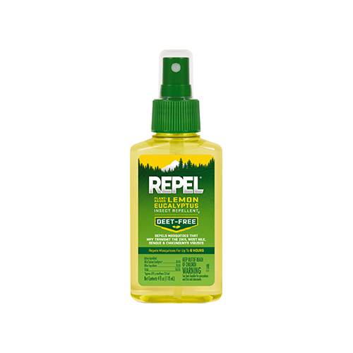 Repel Plant Based Insect Repellent Lemon Eucalyptus 4 oz