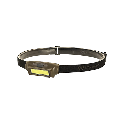 * Bandit Rechargeable Headlamp Headlamp Coyote Grn/Wht LED 180