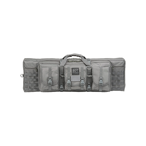 Bulldog Deluxe Standard Tact Rifle Case Seal Grey 36in