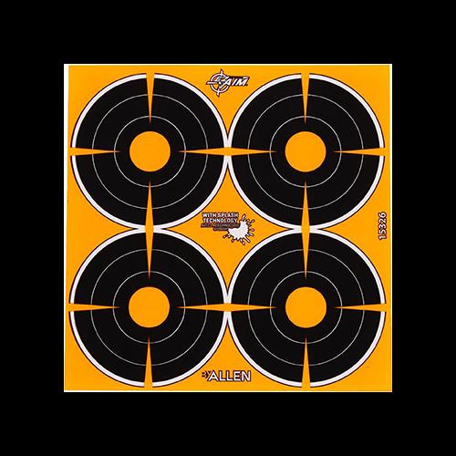 EzAim Splash Bullseye Targets 3in 12pk