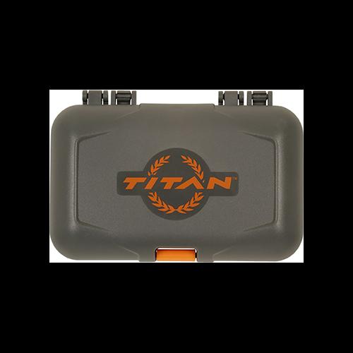 Titan Broadhead Caddy Gray and Orange
