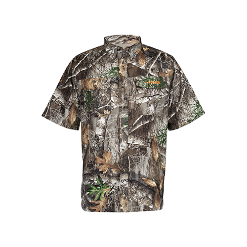 Habit Hatcher Pass Camo Guide S/S Shirt Realtree Edge Large