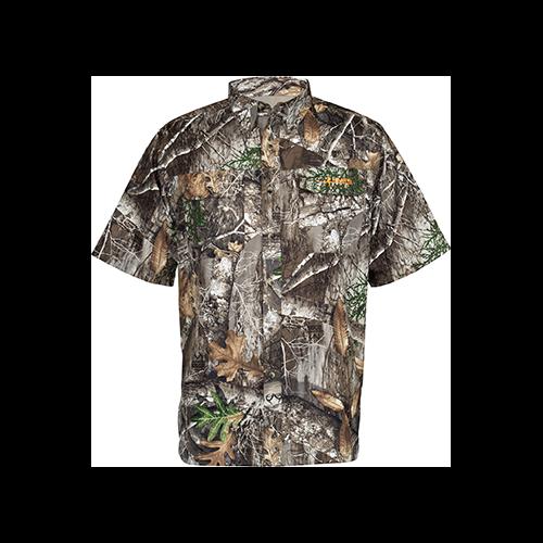 Habit Hatcher Pass Camo Guide S/S Shirt Realtree Edge XL