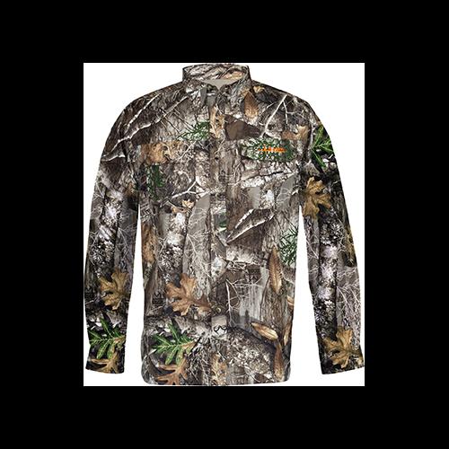 Habit Hatcher Pass Camo Guide L/S Shirt Realtree Edge 2X