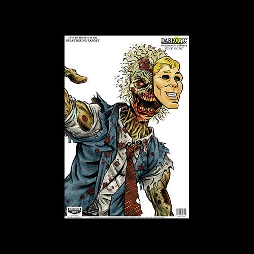 Birchwood Casey Darkotic Target 12x18in Fine Print 8pk