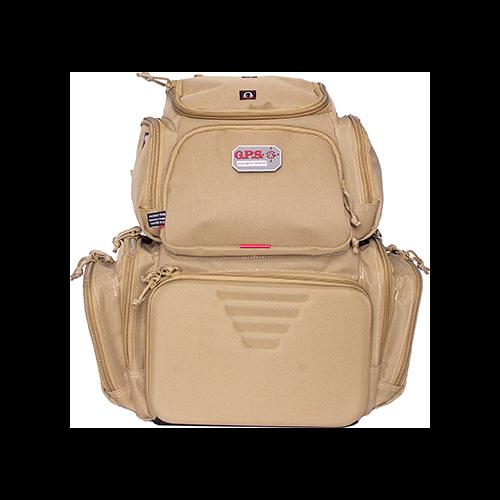 GPS Executive Backpack w/Cradle Tan 4 Handgun