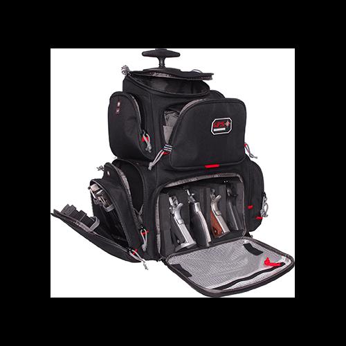 GPS Rolling Handgunner Backpack w/Cradle Black 4 Handgun